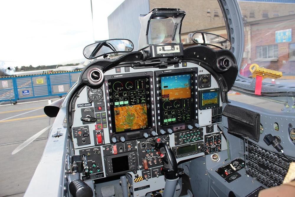 Колумбія модернізувала свої літаки АТ-27 Tucano