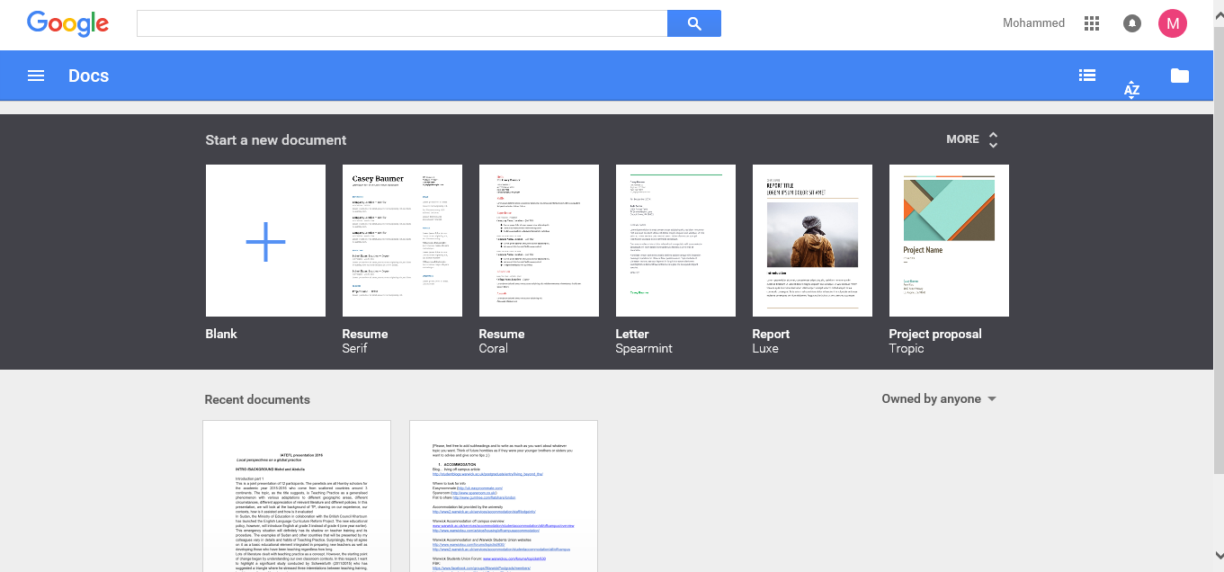 Google Docs - ELT Tech Tools Blog