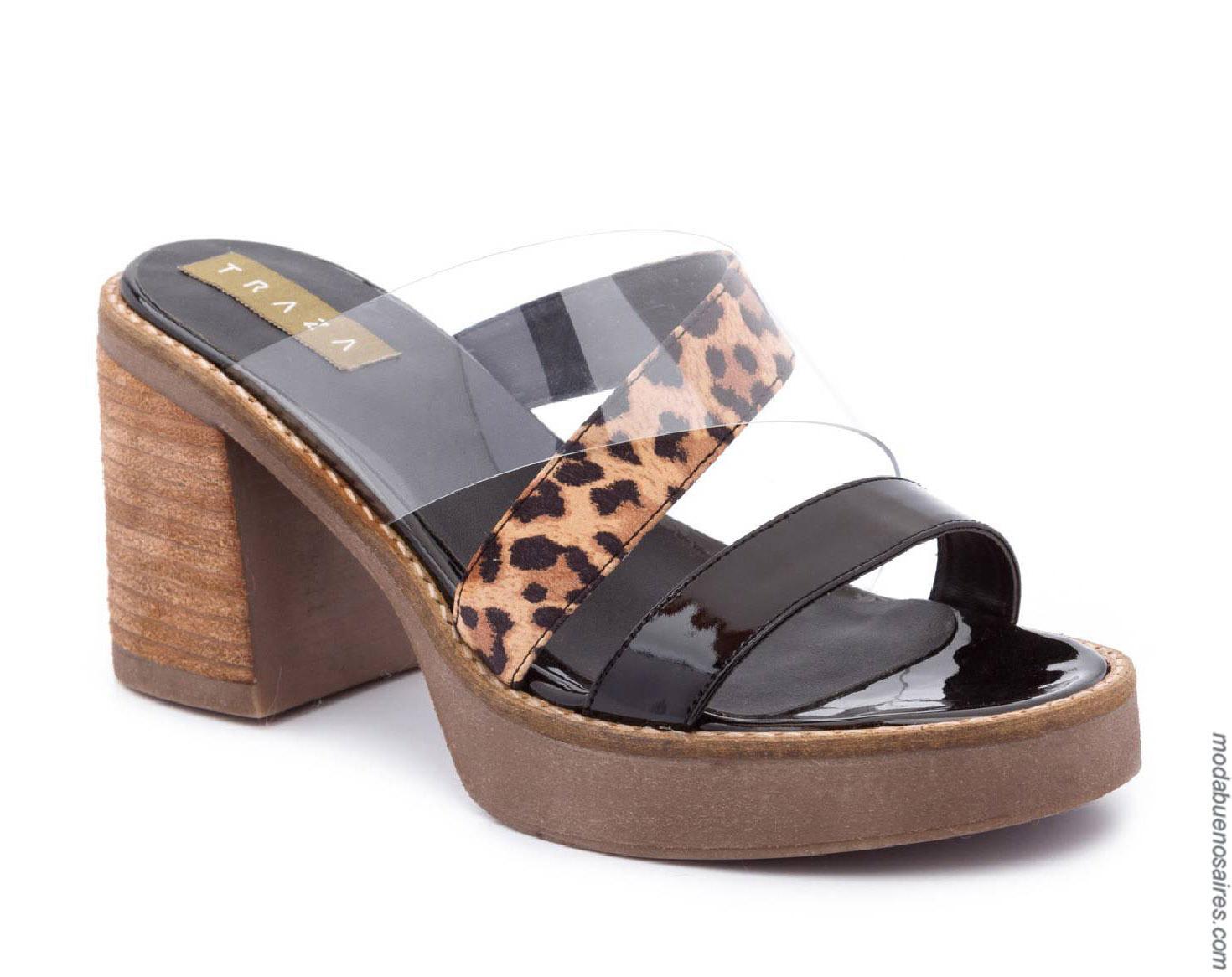 Sandalias primavera verano 2020 moda calzado femenino primavera verano 2020.
