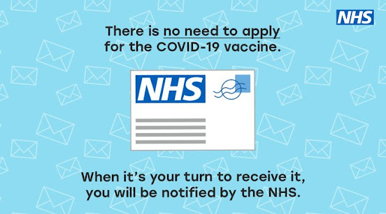 You will be invited to be vaccinated. You don't need to apply.