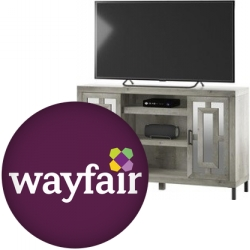 Entertainment Furniture Sale at Wayfair: Save Up to an Extra 75% with Free S&H