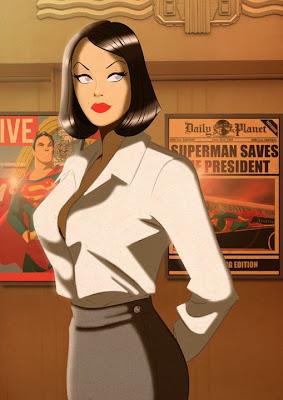 Superhero Pin-Up Cover Girls