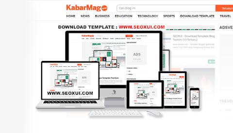KabarMagz - News Blogger Template SEO Friendly