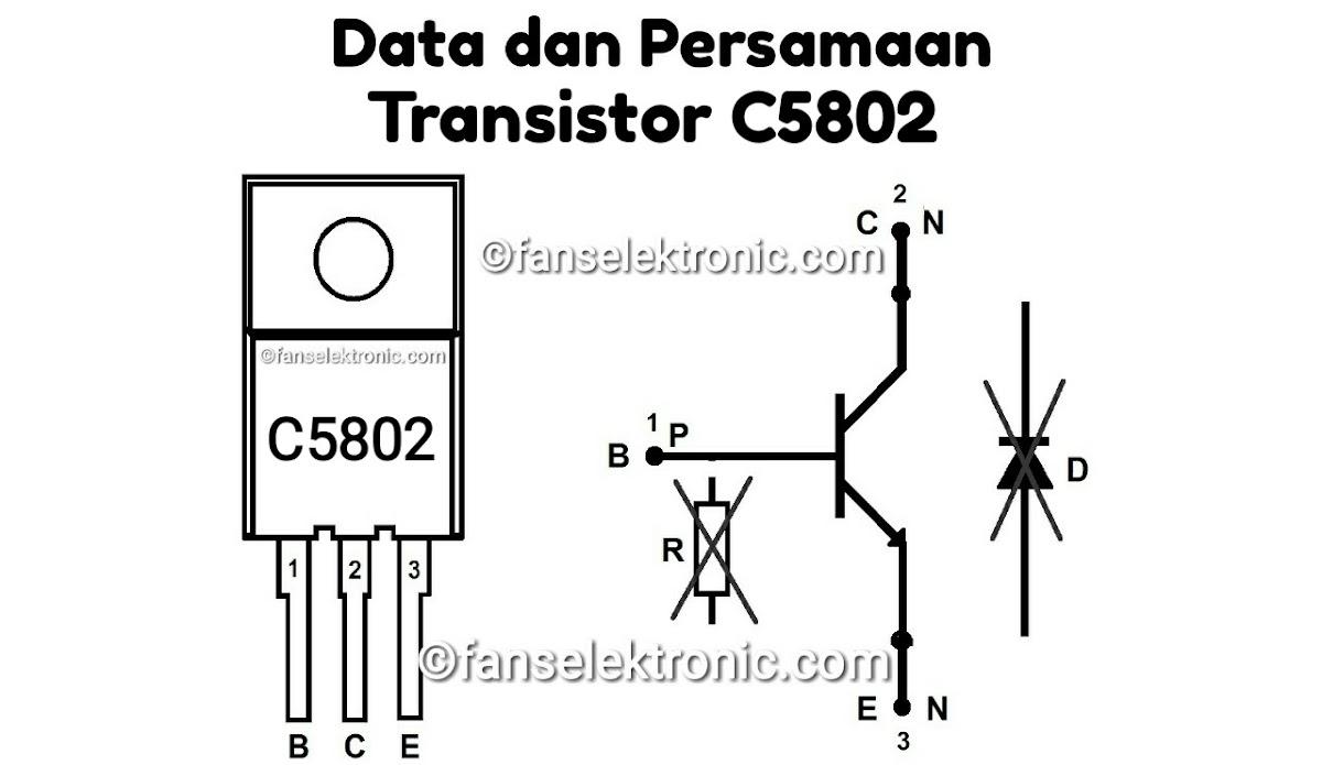 Persamaan Transistor C5802