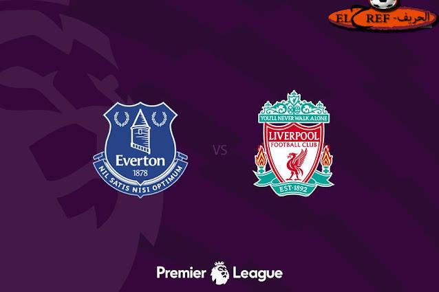 مباراة ليفربول وايفرتون في الدوري الانجليزي بتاريخ 17-10-2020