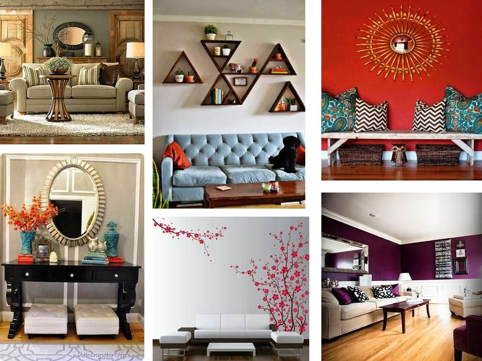 Creative DIY Wall Art Ideas to Decorate your Living room on Creative Living Room Wall Decor Ideas  id=39744