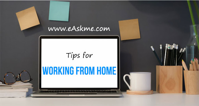 Tips for Working from Home: eAskme