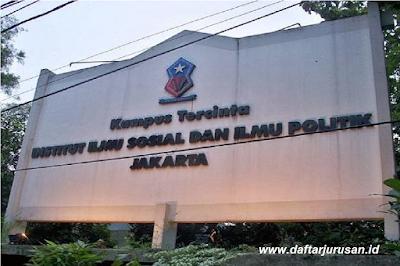 Daftar Fakultas dan Program Studi IISIP Institut Ilmu Sosial dan Ilmu Politik Jakarta