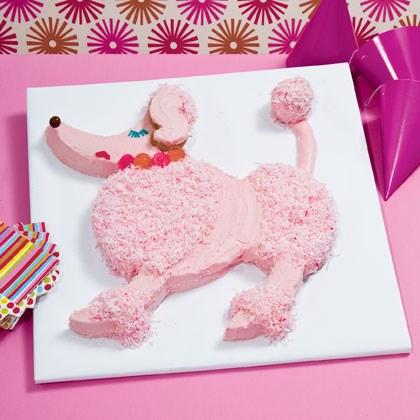 Pampered Poodle Cake