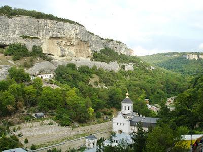 бахчисарай крым, успенский монастырь бахчисарай, бахчисарай свято успенский