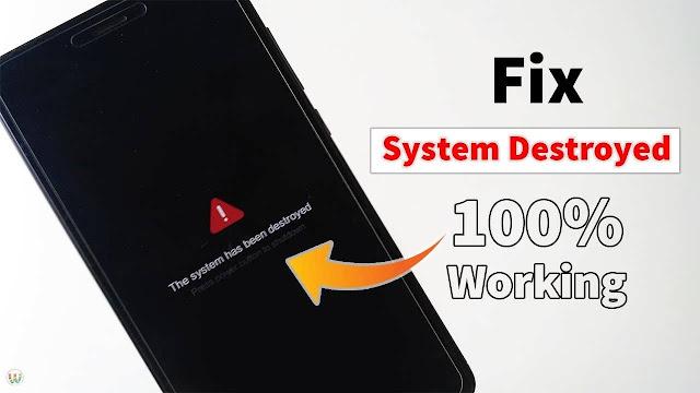Xiaomi Redmi Note 8 Ginkgo Kamu Terkena Error System Destroyed Coba Lakukan 2 Langkap Perbaikan Ini