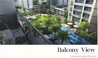 Apartemen DAMOCI Balcony View