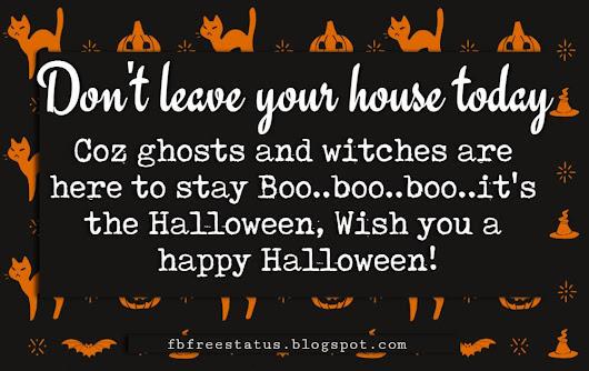 happy halloween greetings card messages https fbfreestatus