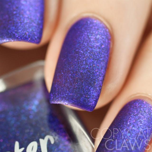 Lacquester Purplexit Swatch Matte