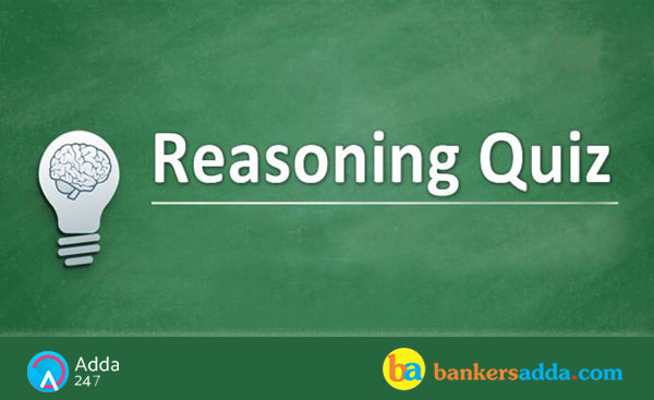 Reasoning Quiz for SBI PO Prelims: 17th June 2018