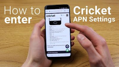 Cricket Wireless APN Settings for android/ios