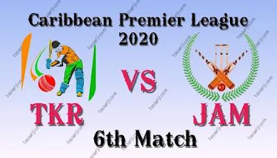 JAM vs TKR Dream11 Team Prediction