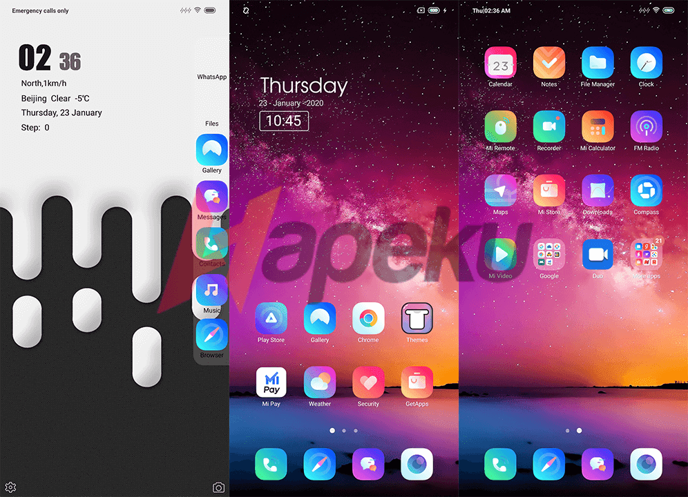 Screenshot Theme Material Mix v11 for MIUI 10 & 11