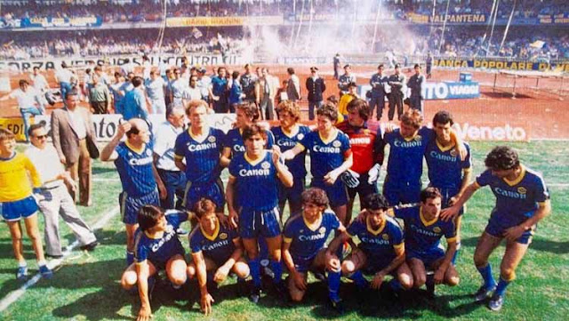 Hellas Verona Punya Dongeng Indah di Serie A