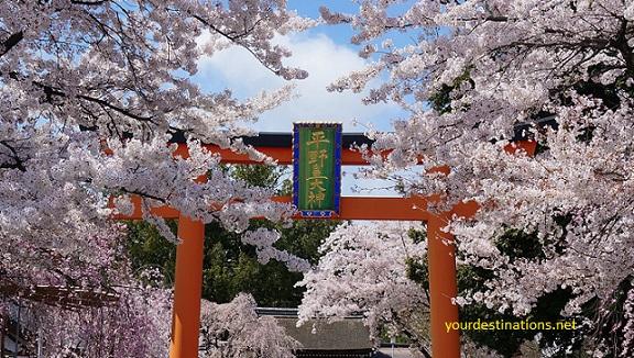 Hirano-jinja Temple