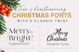 10 Free and Heartwarming Christmas Fonts With a Classic Twist