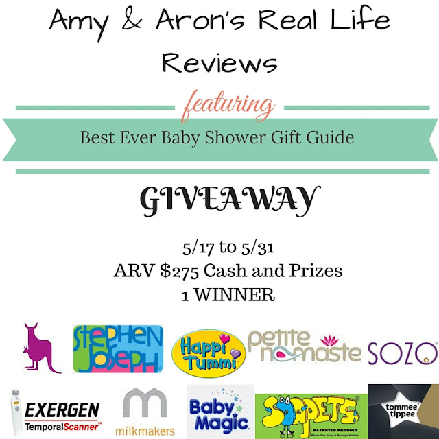 Blogger Opp - Best Ever Baby Shower Gift Guide Giveaway (US only)