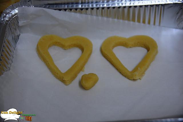 עוגיות לבבות sweetheart cookies