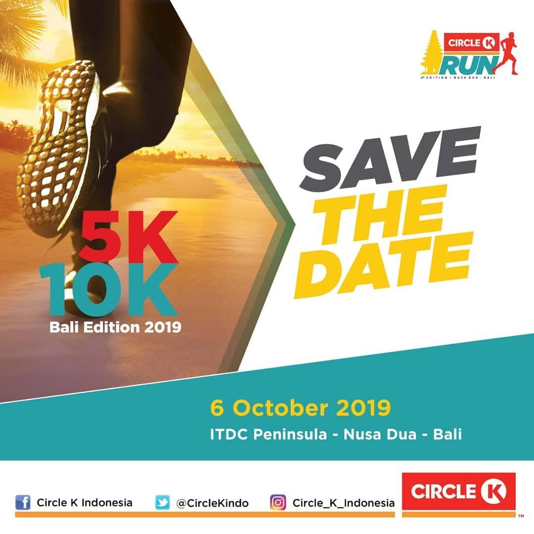 Circle K Run - Bali • 2019