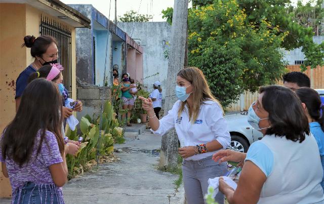 Por su trabajo y resultados de muchos años, aseguran su voto a Cecilia Patrón