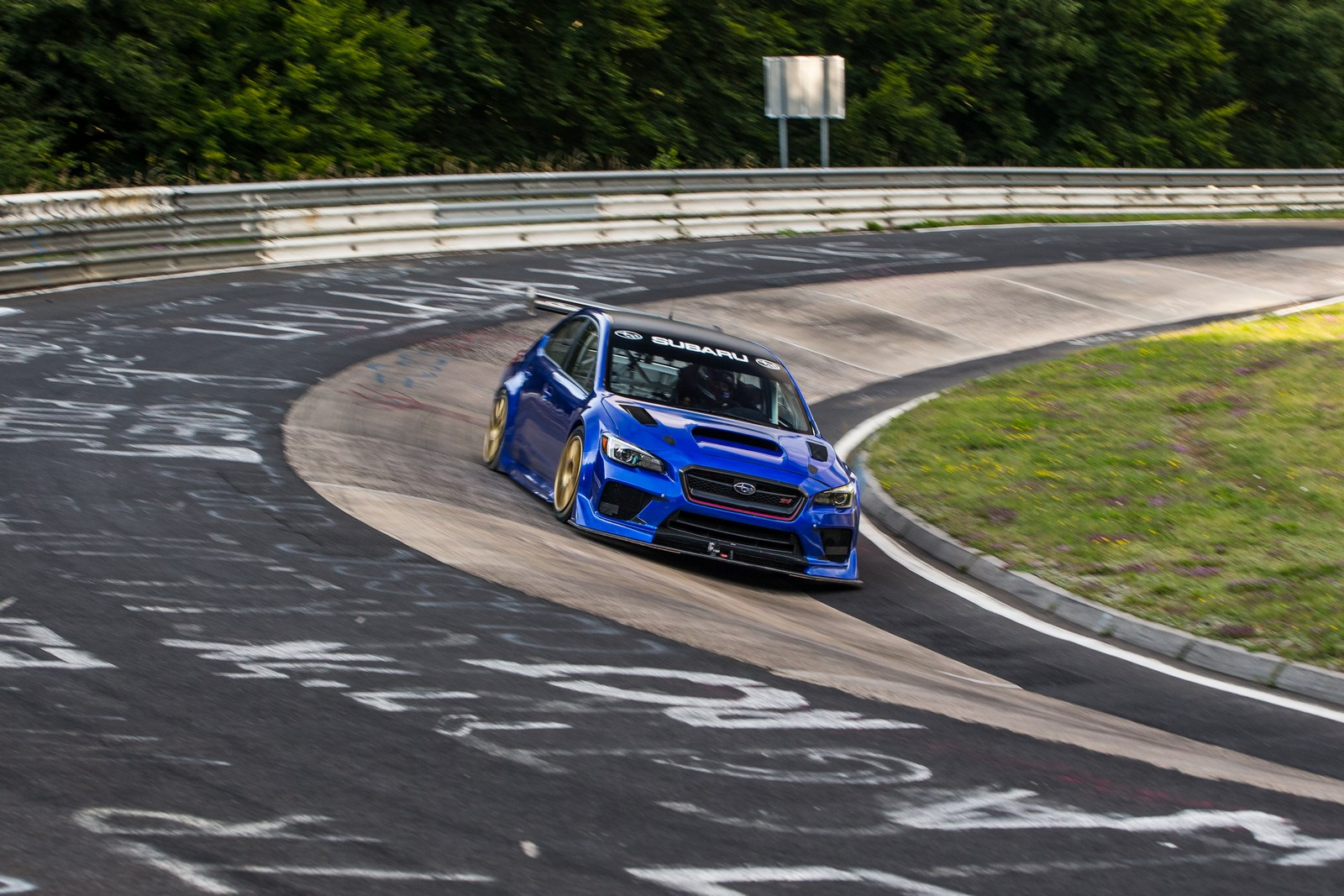 subaru releases footage of record setting n rburgring run. Black Bedroom Furniture Sets. Home Design Ideas