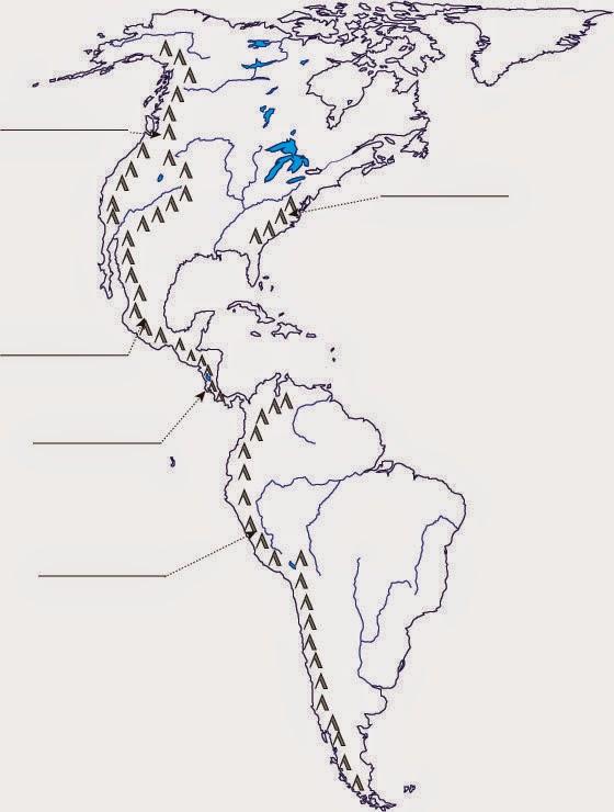 Aula de Estudios Sociales: Mapas de América
