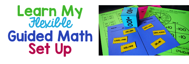 Want to run successful Guided Math groups? Learn how having a flexible approach can help you be organized as you teach Guided Math this year.