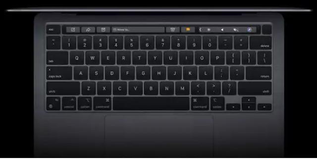 MacBook Pro 13 (M1, 2020) Magic Keyboard