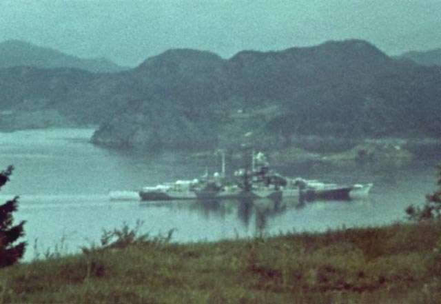 German battleship Tirpitz during World War II worldwartwo.filminspector.com