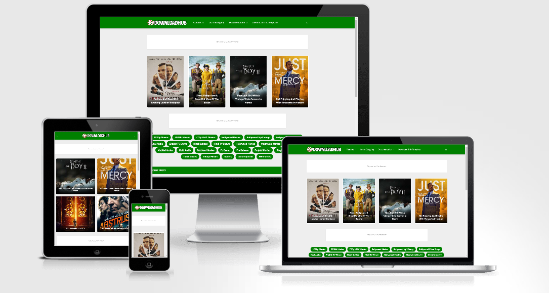 Download Hub - Responsive Blogger Template
