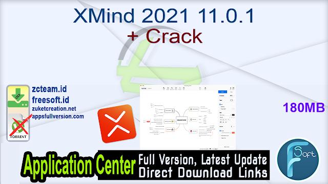 XMind 2021 11.0.1 + Crack_ ZcTeam.id