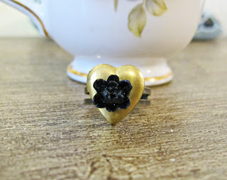 two cheeky monkeys dspdavey locket ring poison ring boho chic floral jewellery jewelry