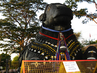 Nandi at chamundi hill