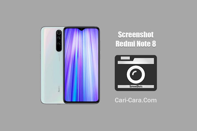 cara screenshot redmi note 8