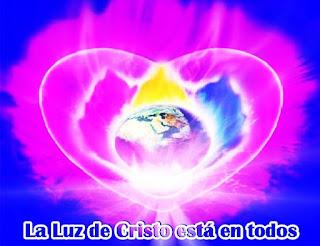 La Pascua está en pleno proceso y a veces se olvidan que la Luz de Cristo está en todos ustedes, porque son Hijos de Dios, Luces de Dios, nacidos de su misma Energía.