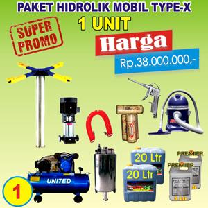 Paket Hidrolik-X 1 Unit