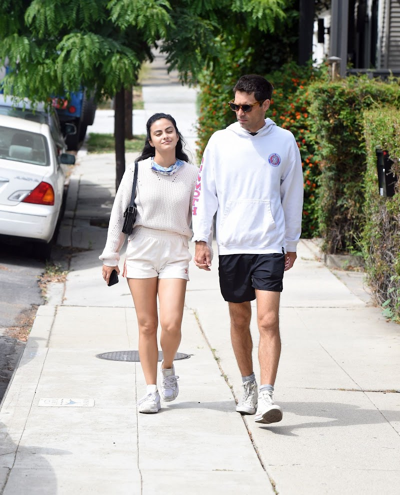 Camila Mendes and Grayson Vaughan Clicked  Outside in Los Angeles 23 Jun -2020