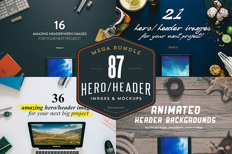 87 Hero/Header images