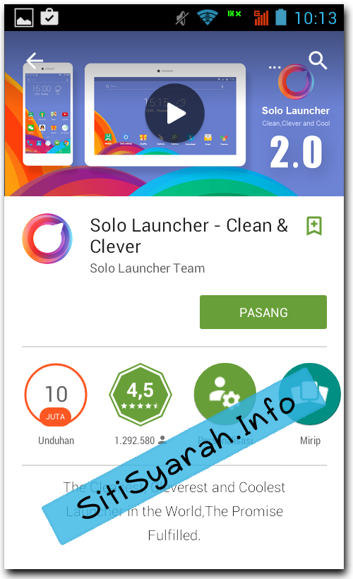 Tema Android Ringan dan Cepat
