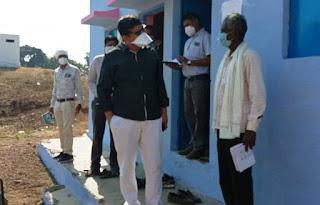 मुख्यमंत्री आयुष्मान शिविर कलेक्टर लगातार कर रहे शिविरों की मॉनीटरिंग