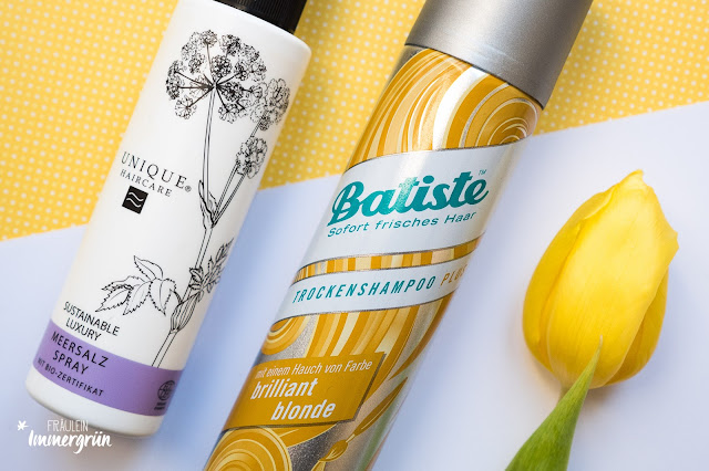 Unique Haircare Meersalz Spray, Batiste Trockenshampoo Brilliant Blonde