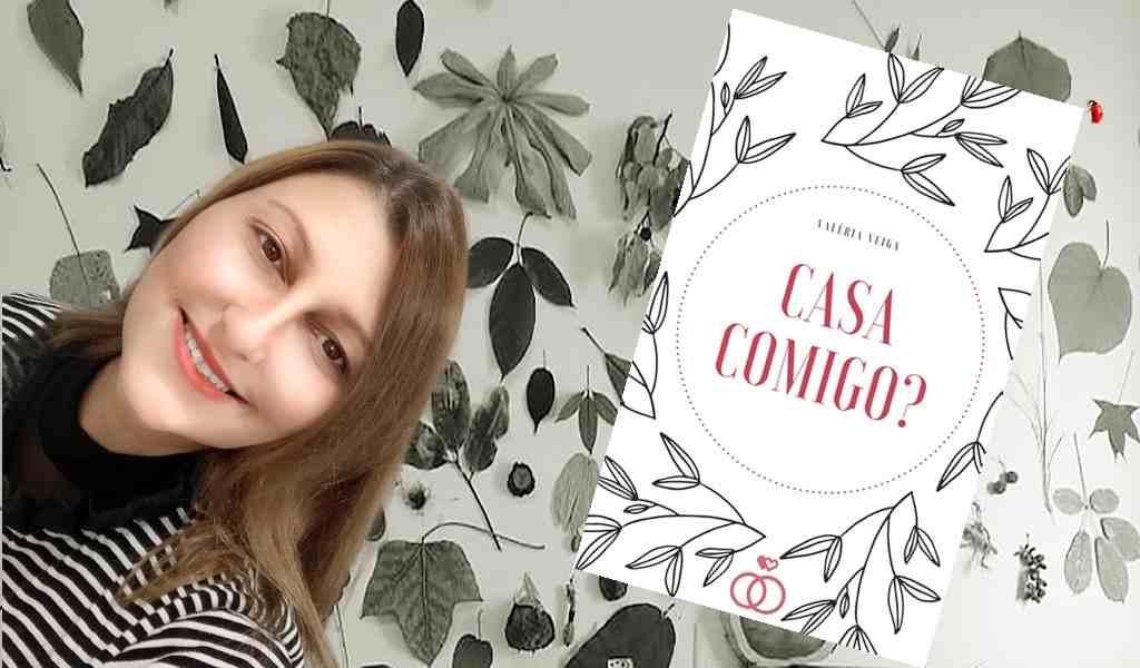 """A nova E. L. James é brasileira? Na vibe 50 Tons de Cinza, a comédia romântica picante """"Casa Comigo?"""", da autora Valéria Veiga, já rendeu mais de 350 mil leituras on-line, incluindo downloads na gigante Amazon"""