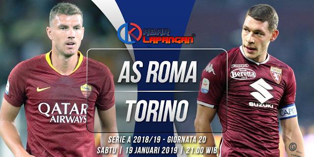Prediksi Bola AS Roma vs Torino Liga Italia