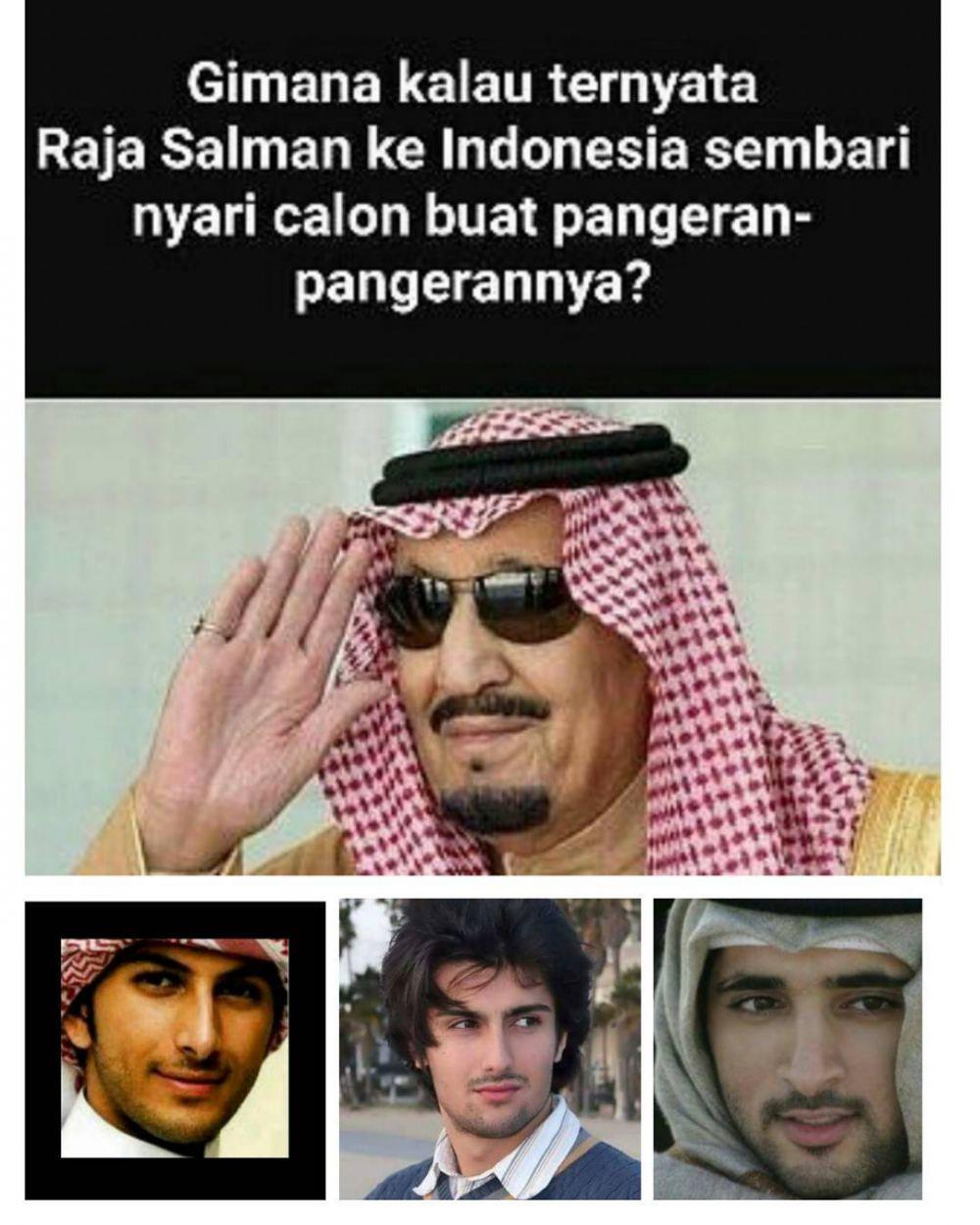 9 Meme Kocak Ini Ikut Sambut Kedatangan Raja Salman Bikin Ngakak