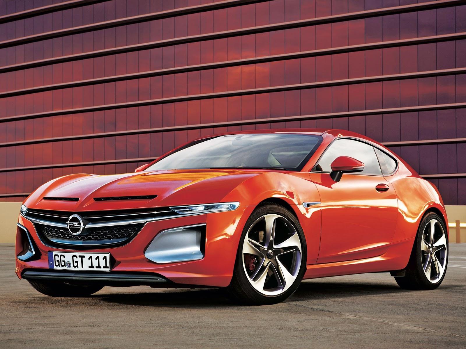 opel Κυρίες και κύριοι, έτσι θα είναι το επόμενο Opel GT Opel, Opel GT, Opel GT Concept